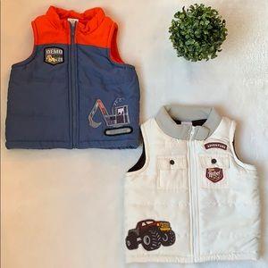 *Wonder Kids* Toddler Boy Puffer Vests